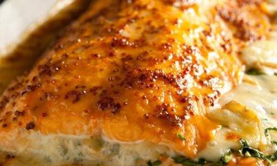 Filet de saumon farci au Roubine de Noyan