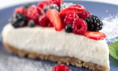 Gâteau à la Ricotta d'ici et aux petits fruits