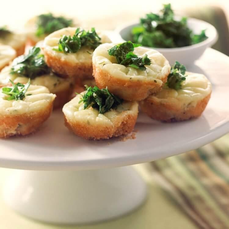 Gâteau au fromage Boursin Échalote et Ciboulette