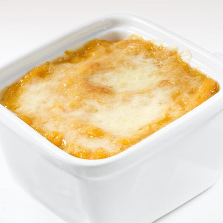 Gratin de citrouille au fromage Le D'Iberville