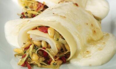 Lasagne à la sole et aux deux fromages
