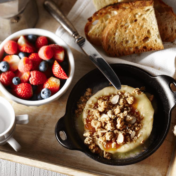 Le Côte-Sud chaud aux fruits et au granola