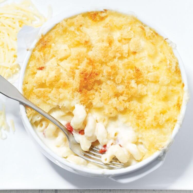 Macaroni dernier cri aux trois fromages d'ici