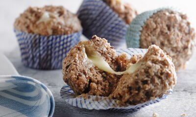 Muffins chauds au fromage Le Cabouron