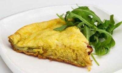 Omelette gratinée au Blackburn