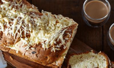 Pain brioché au bacon et au fromage Le Frère Chasseur