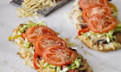 Pizza style sous-marin et Le P'tit Bronzé