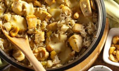 Riz au poulet et au fromage Le Mamirolle