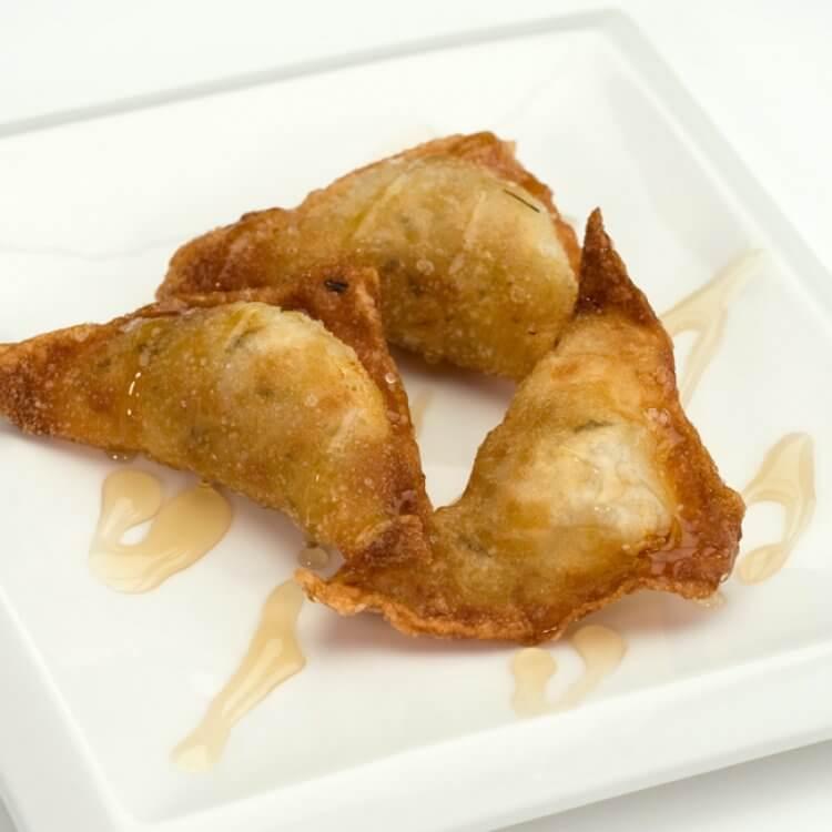Samosas aux pommes et Le Cabrouet