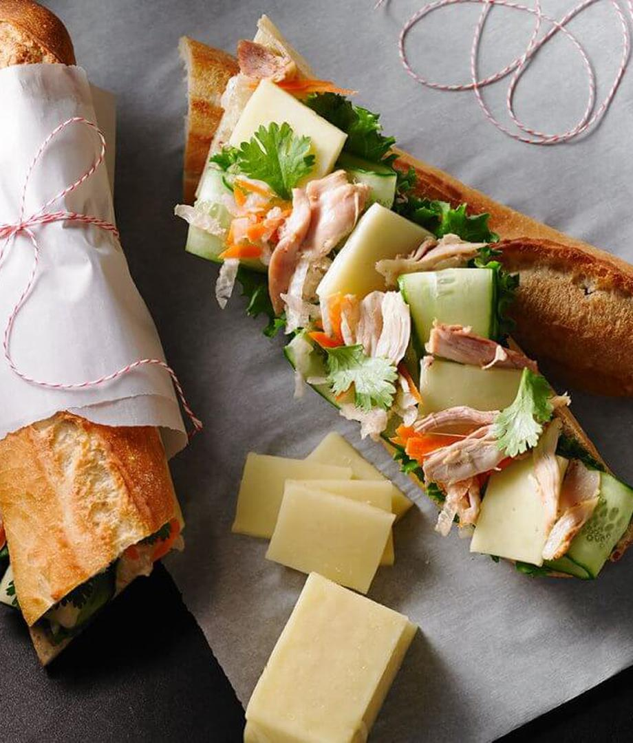 Sandwich vietnamien au fromage