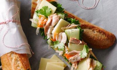 Sandwich vietnamien à L'Ancêtre Frugal