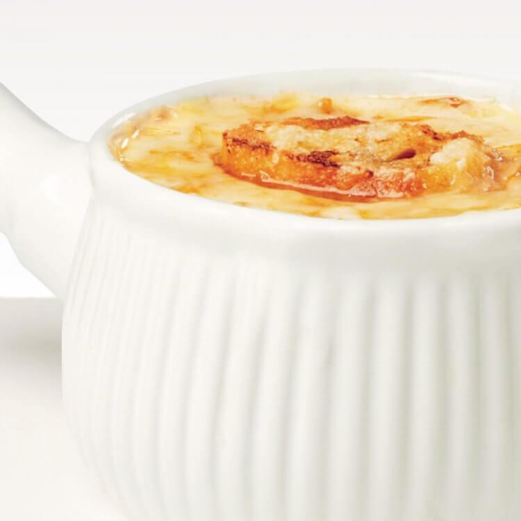 Soupe à l'oignon gratinée au fromage Le Mamirolle
