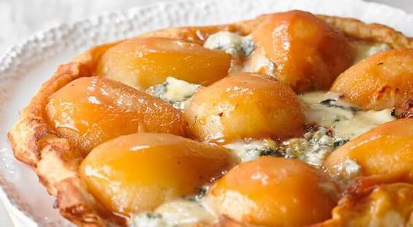 Tatin de poires au fromage bleu