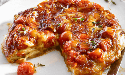 Tatin de tomates cerises au fromage Réserve La Pérade