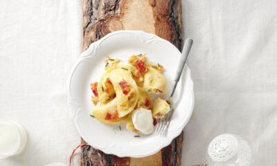 Pierogis ruskie – Pierogis aux pommes de terre et aux fromages d'ici