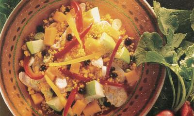 Salade de couscous et poulet