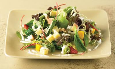 Salade des îles aux parfums de lime et de coriandre