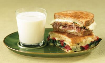 Sandwichs au fromage fondant