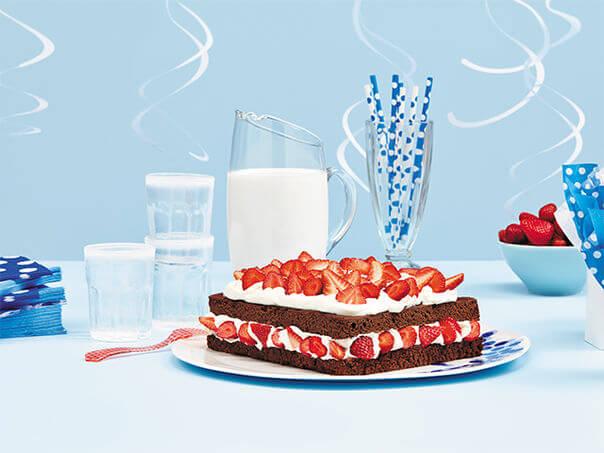Shortcake choco-fraise