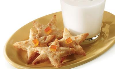 Biscuits au beurre et aux écorces d'orange confites