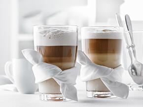 Café latté au pain d'épices