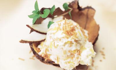 Crème glacée pina colada