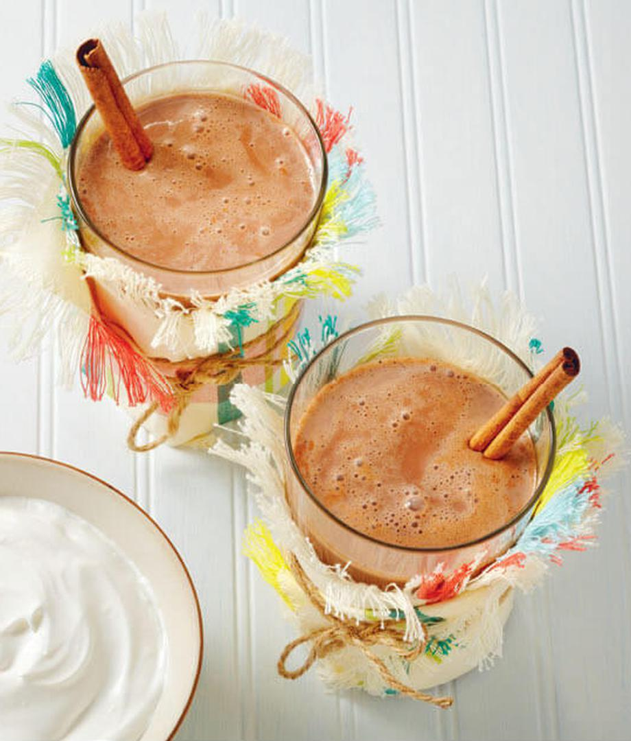 Chocolat chaud antillais (Dlo cho epi kako)