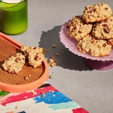 Biscuits à l'érable et aux pacanes