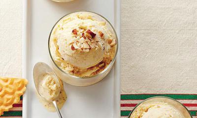 Crème glacée aux noisettes (Gelato alla nocciola)