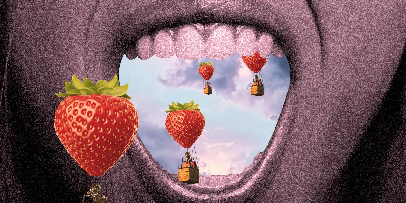 7 jours à se bourrer la fraise… de fraises!