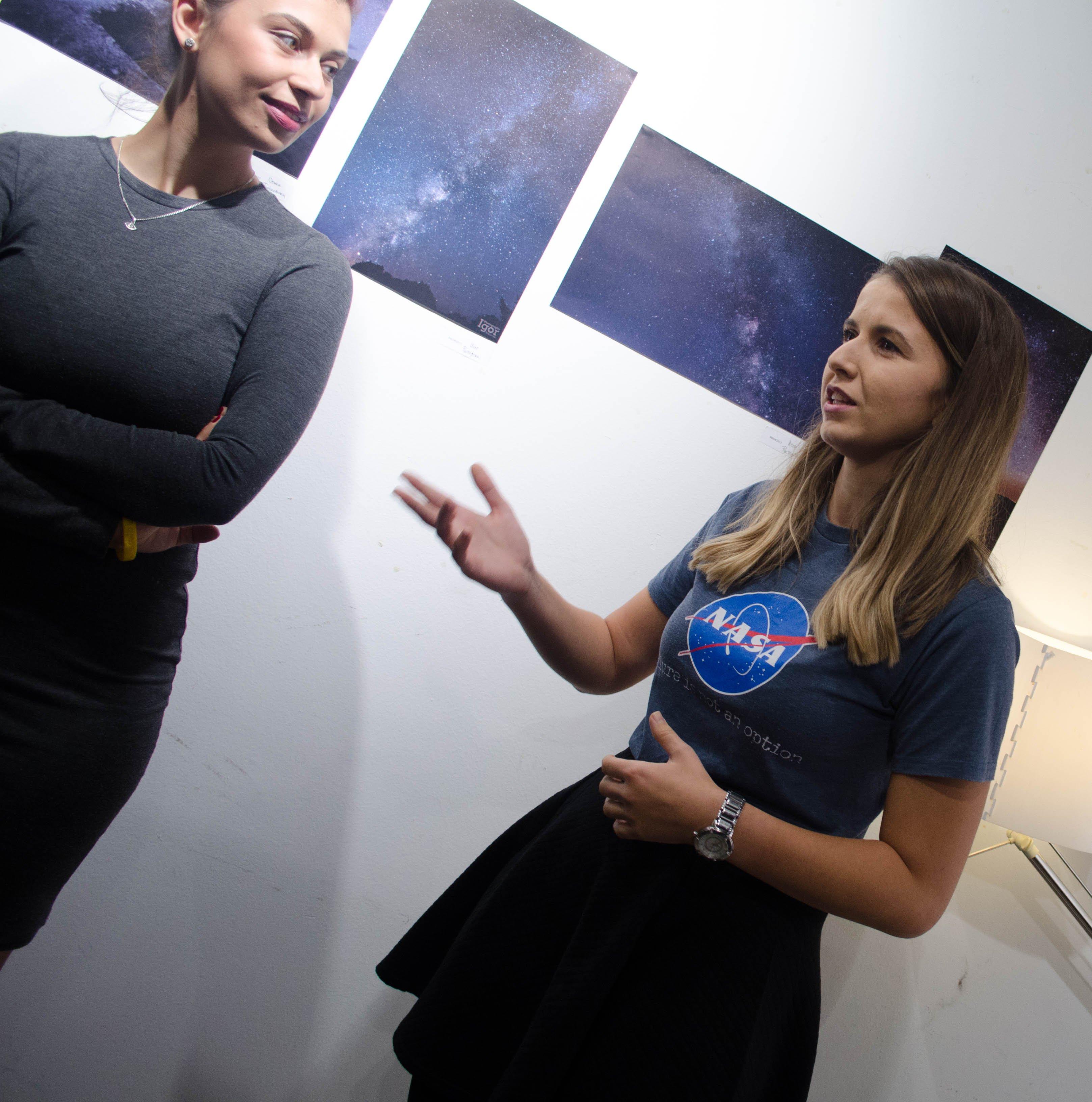 Anita Kirkovska - NASA Shirt