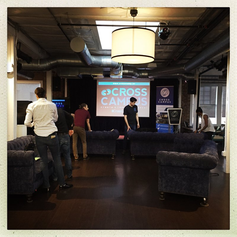 Setting up for Space Apps 2016 MainStage Pasadena Data Bootcamp