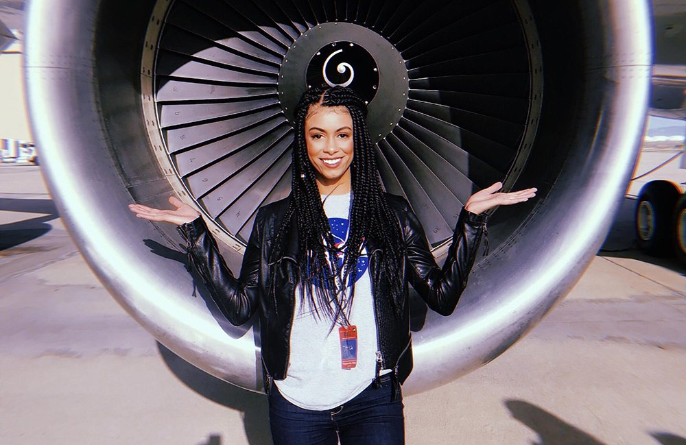 Fig in front of a DC-8 engine intake.jpg