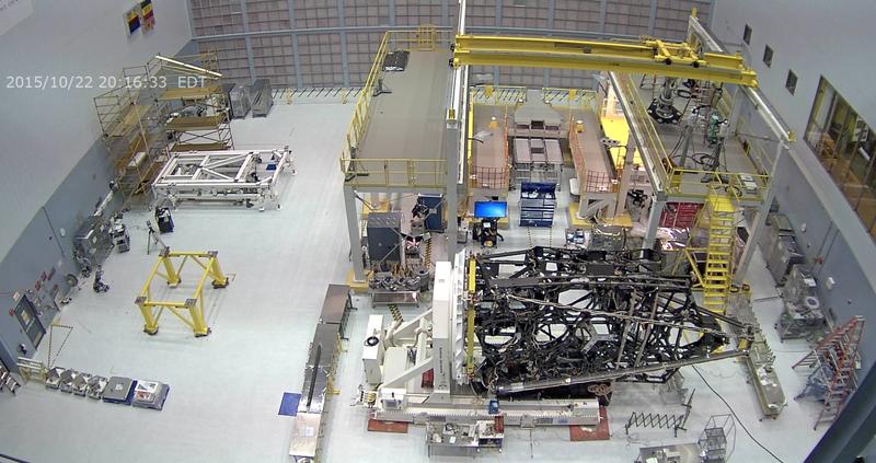 James Webb Space Telescope Clean Room Webcam