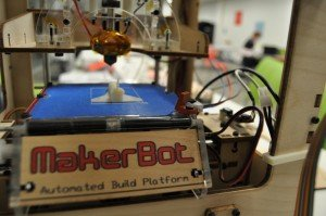 MakerBot printing a shuttle