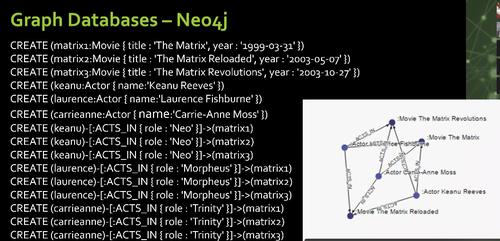 neo4j matrix example