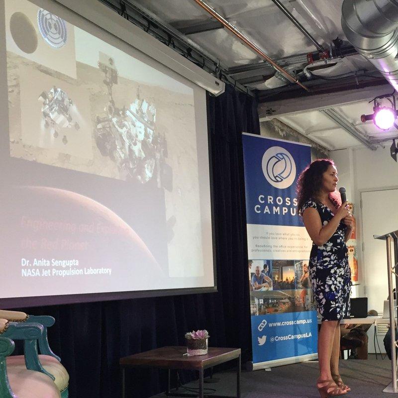 Space Apps 2016 Data Bootcamp Dr. Anita Sengupta