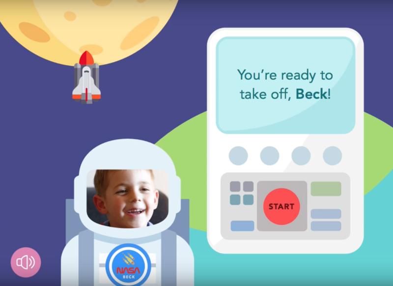 Space Apps 2016 Global Finalist Kid on Moon