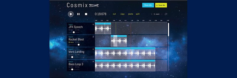 Space Apps 2015 People's Choice Semi-finalist Cosmix