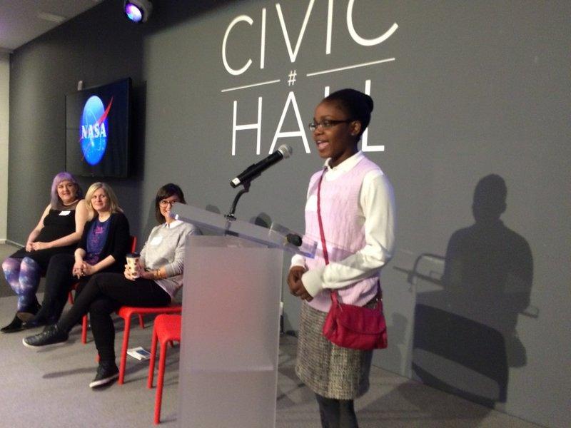 Space Apps Data Bootcamp Speaker Olivia Ross of Black Girls Code