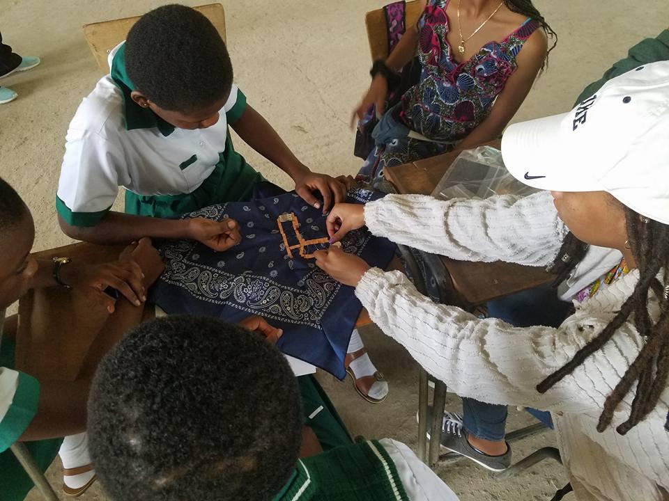 Loretta in Ghana 2