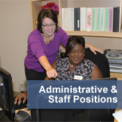 Administrative and Staff Positions