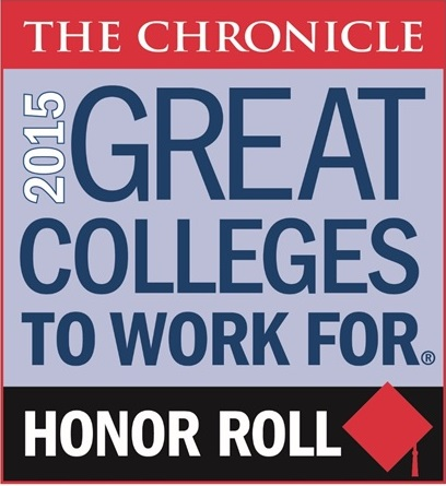 Chronicle of Higher Education Great College to Work for 2013 Honor Roll