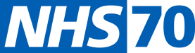 NHS 70 year logo
