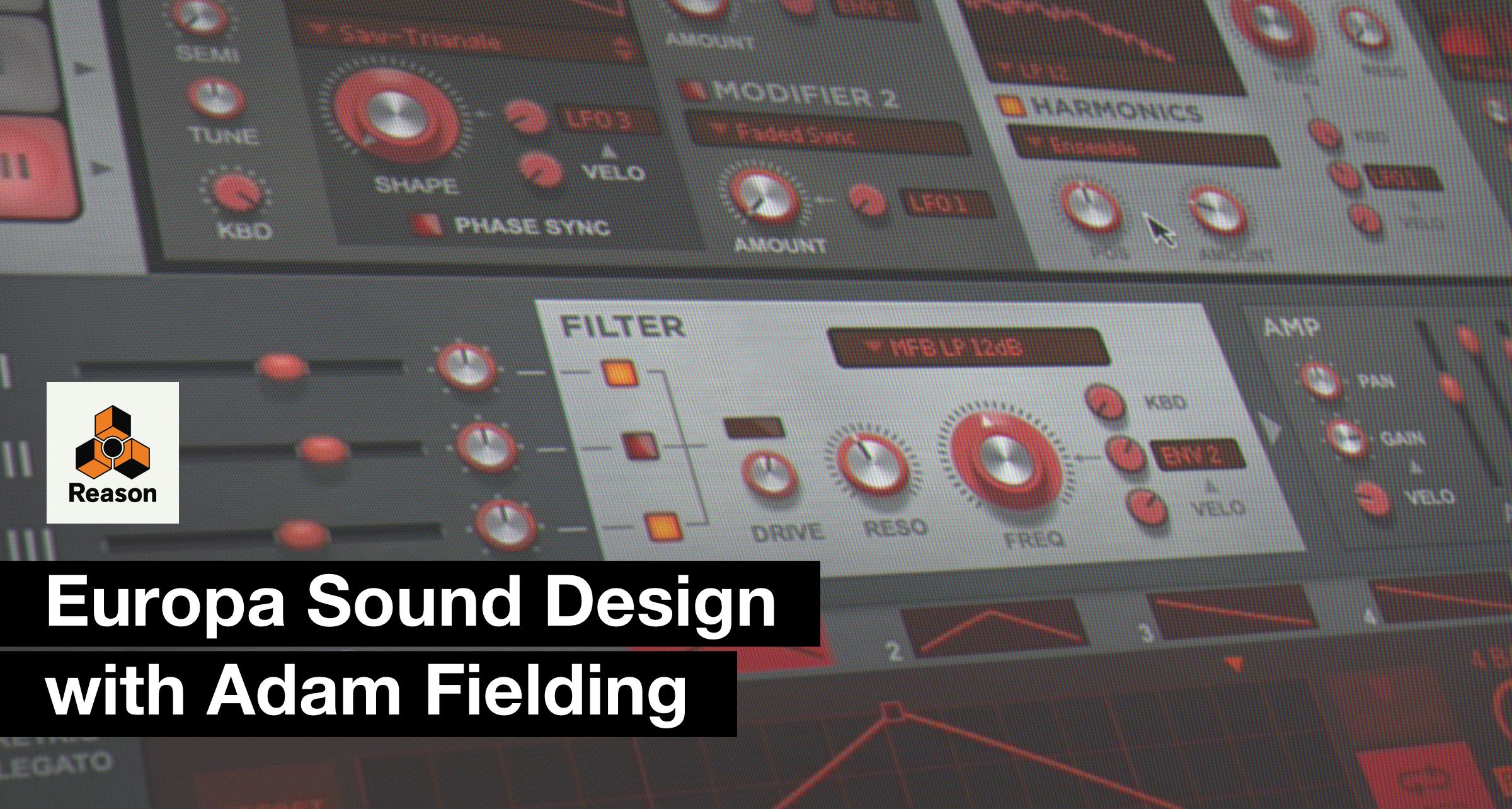 Europa Sound Design with Adam Fielding
