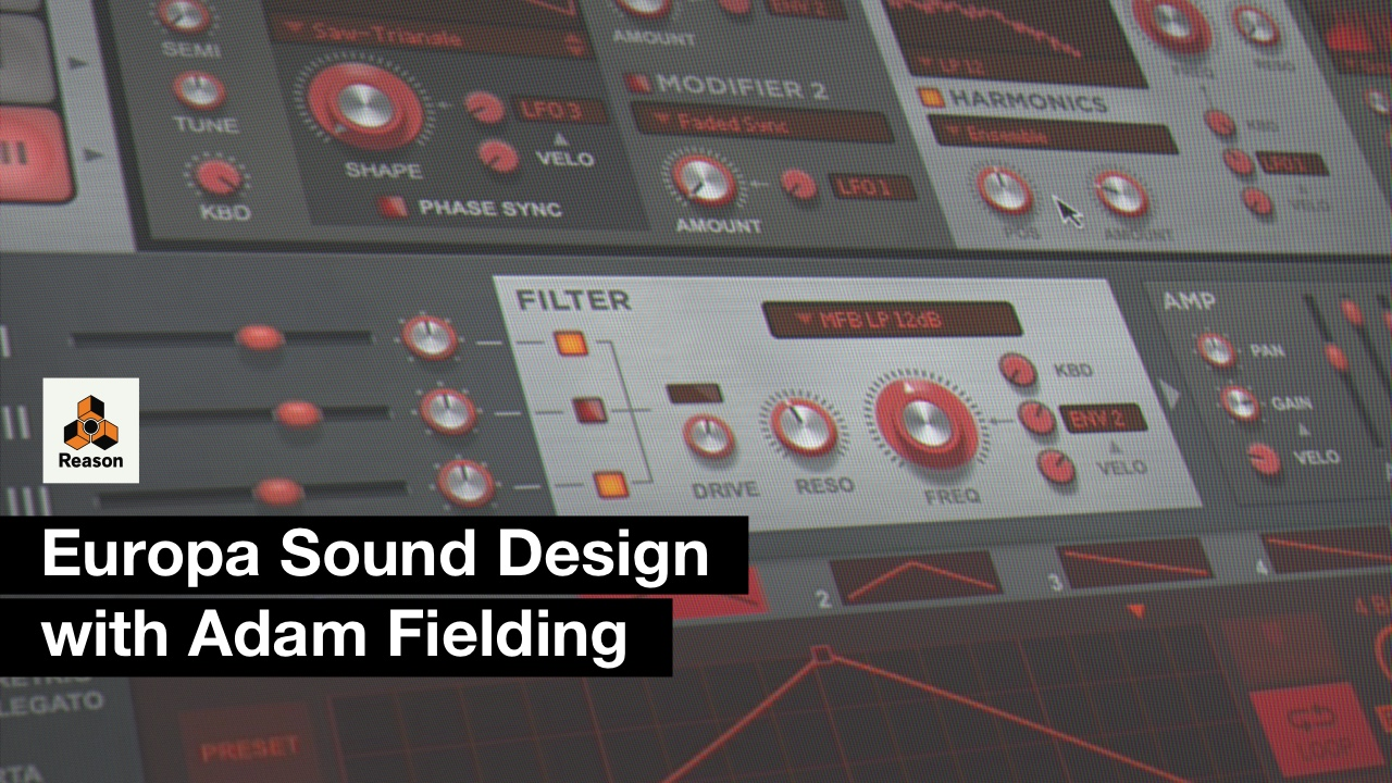 Europa Sound Design with Adam Fielding