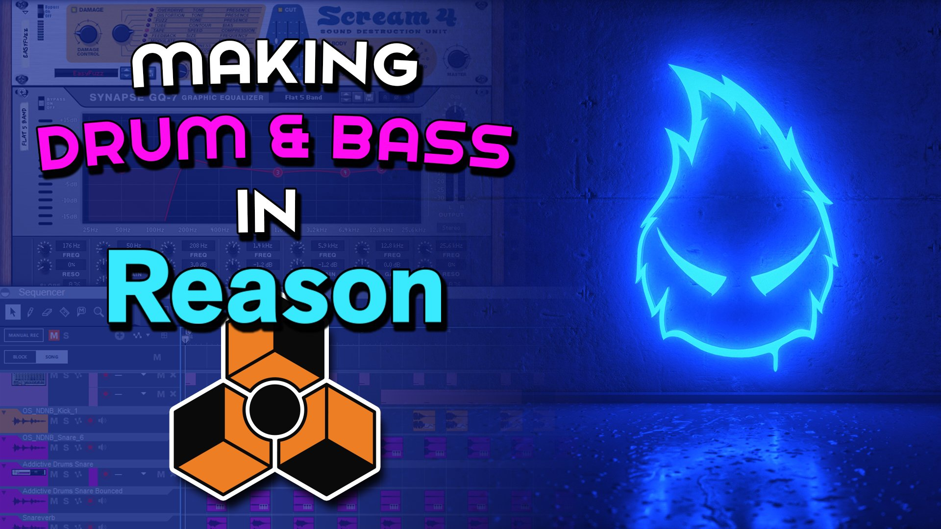 How to Make a Drum n Bass Track in Reason