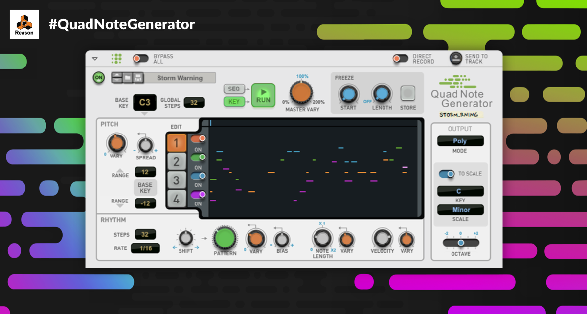 #QuadNoteGenerator - Let's hear what you're generating