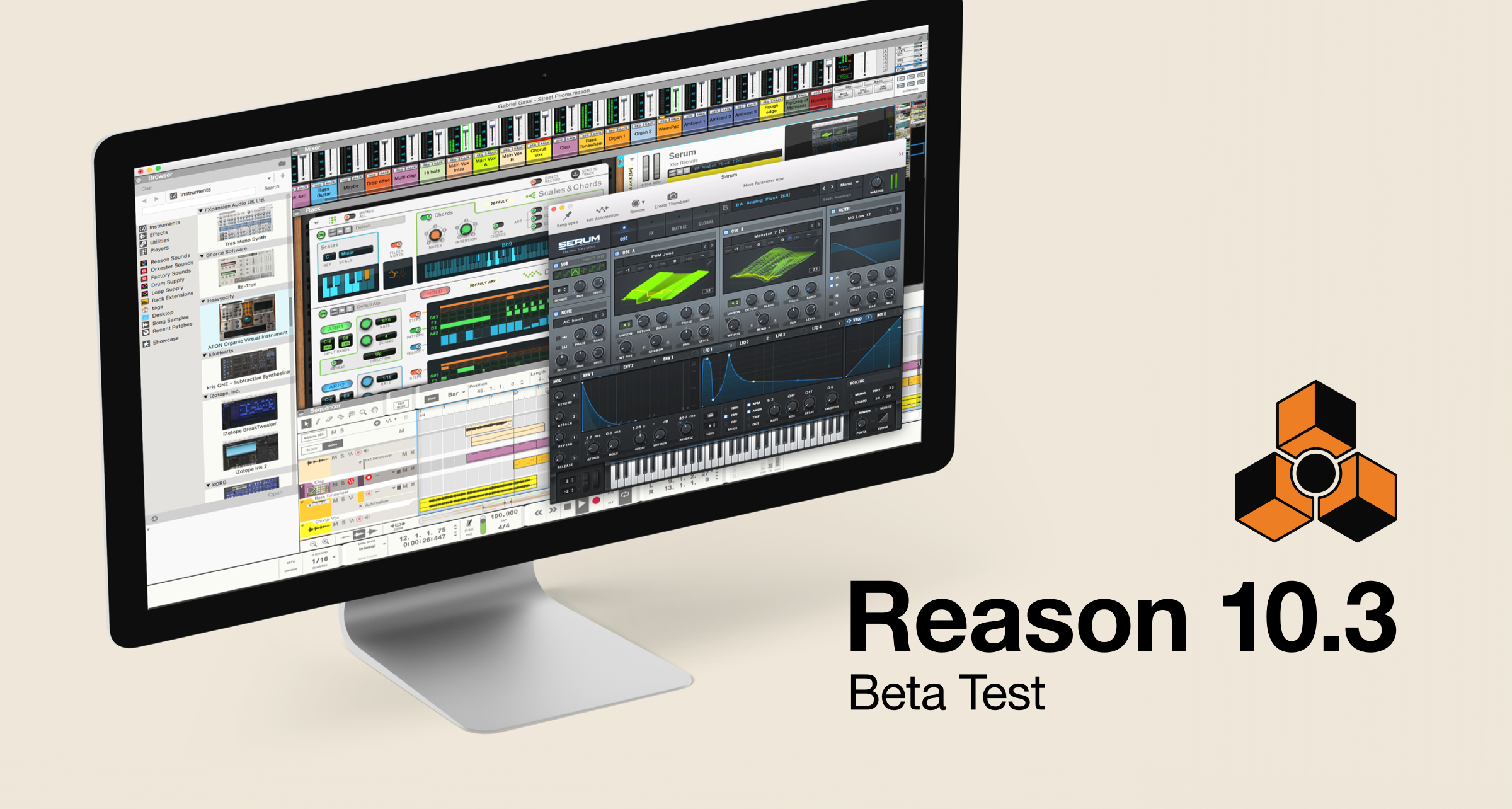 Reason 10.3 now in beta!