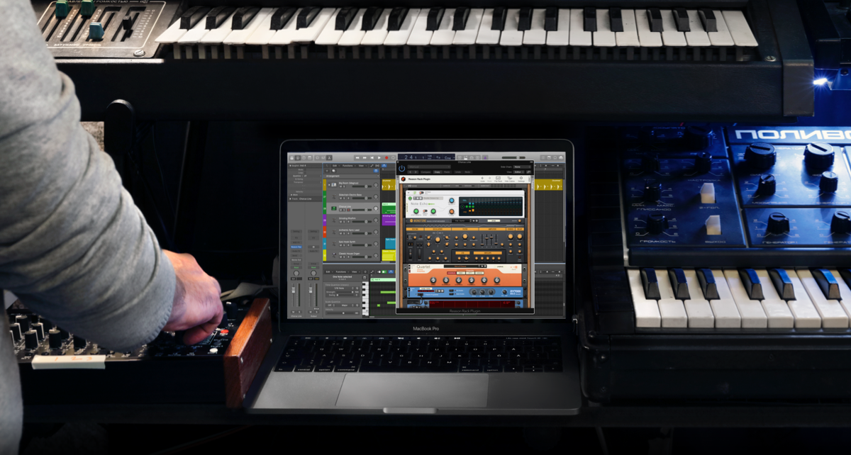Reason Rack Plugin is now available in AU format